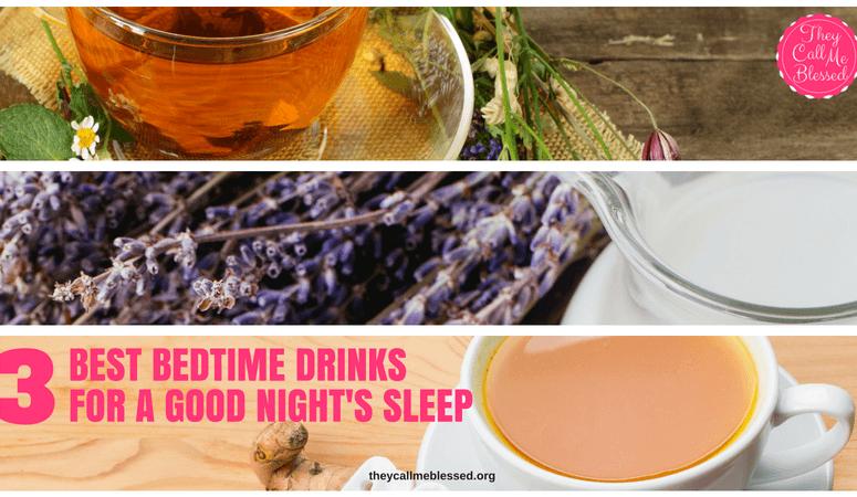 3 Best Bedtime Drinks for a Good Night's Sleep