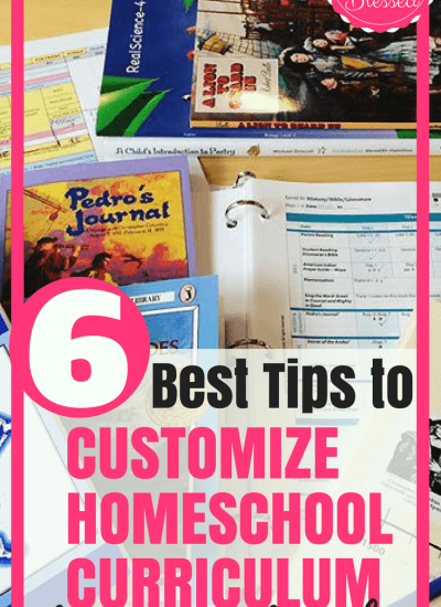 How to Customize Homeschool Curriculum for Your Family + $500 Giveaway!