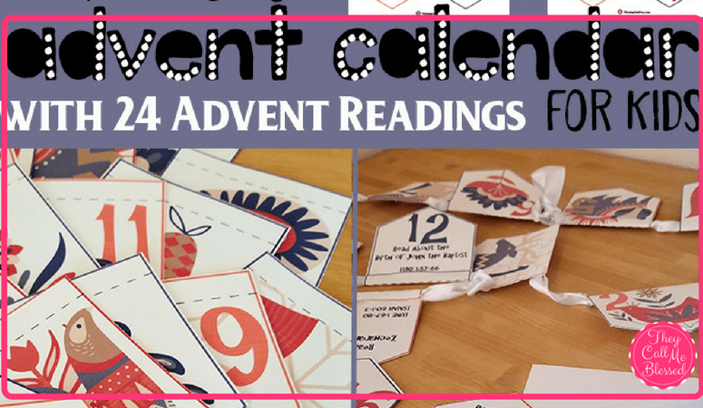 Focus on Jesus with a Unique Advent Calendar for Kids
