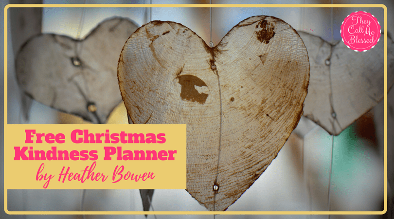 24 Days to a Christ-Centered Christmas: Free Christmas Kindness Planner
