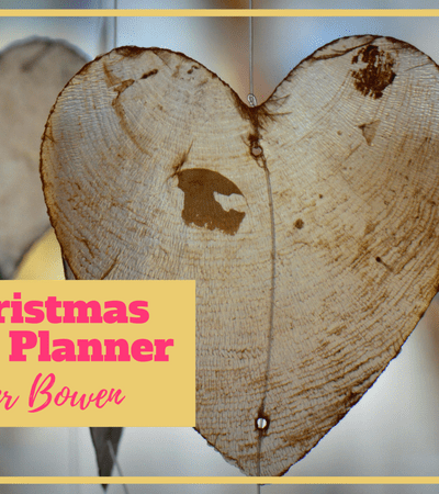 Free Christmas Kindness Planner
