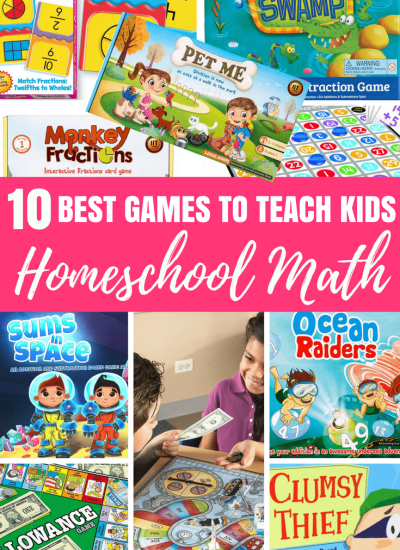 Homeschool Math Hack: 10 Awesome Games To Teach Kids Math