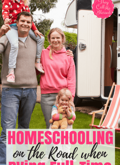 Tips for Homeschooling on the Road When RVing Full-Time as A Family