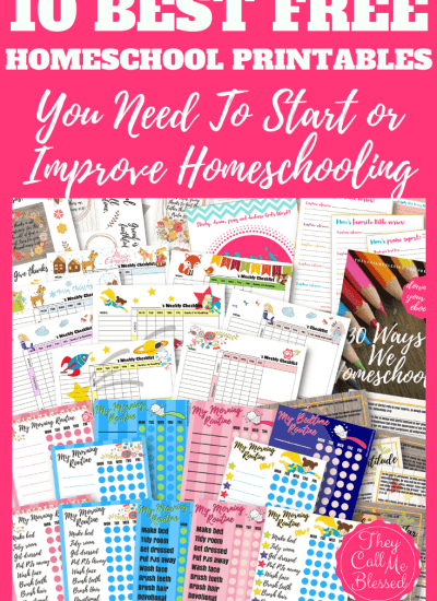 10 Best FREE Homeschool Printables You Need To Start Homeschooling