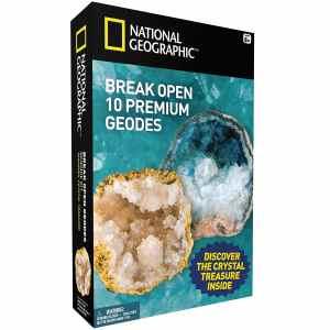 National Geographic Break Open 10 Premium Geodes