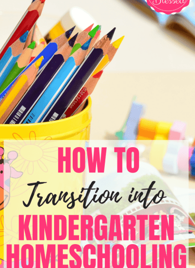 How to Transition Pre-k to Kindergarten Homeschooling