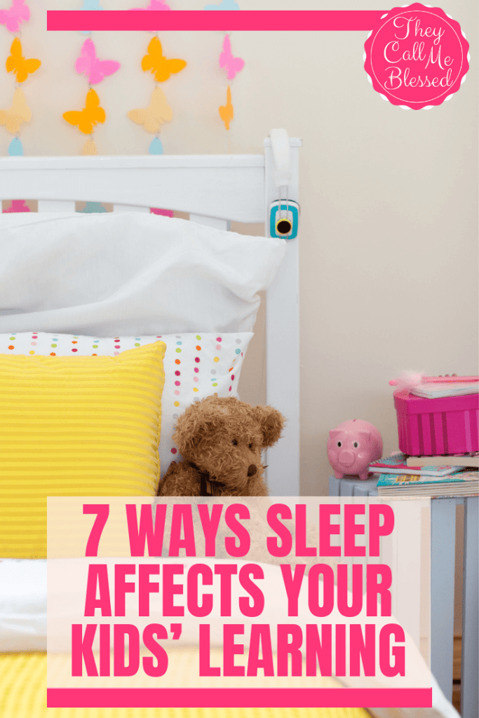 7 Ways Sleep Affects Your Kids' Learning