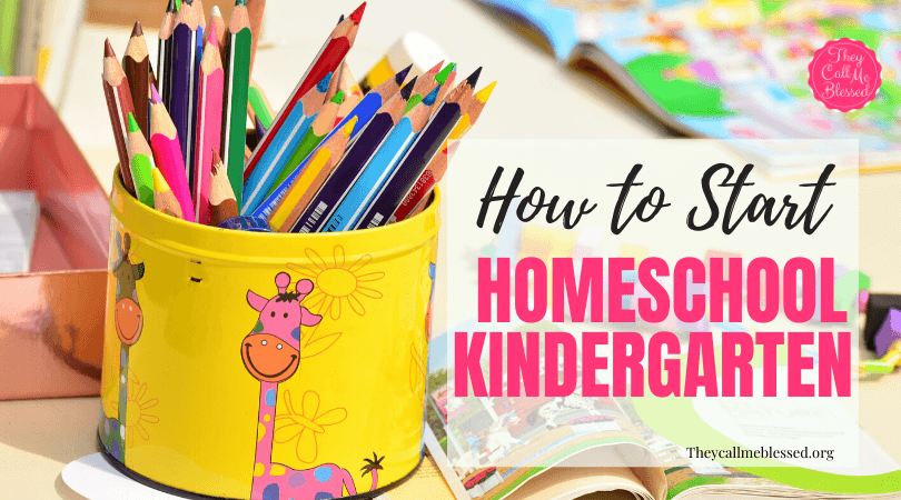 How To Transition Into Homeschooling Kindergarten