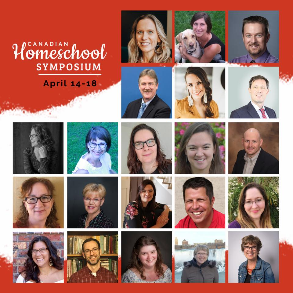 Canadian Homeschool Symposium April 14-18 2020