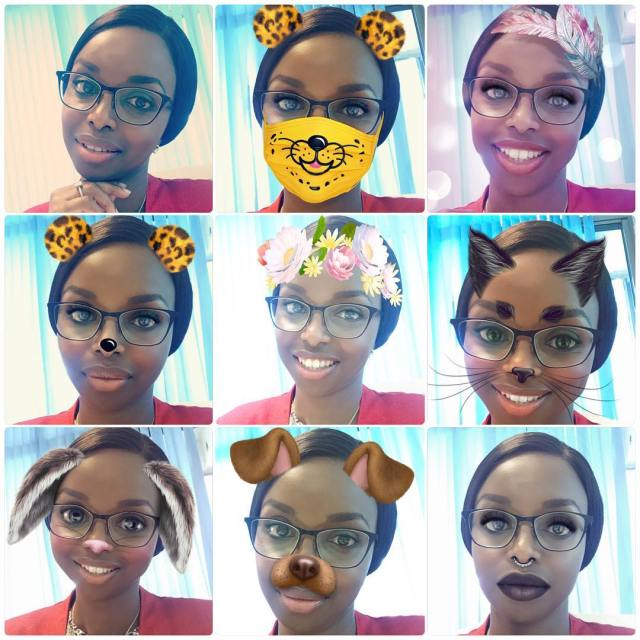 When Snapchat filters have you feeling some typa way tgifhellip
