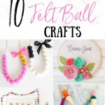 Top 10 Diy Felt Ball Crafts The Yellow Birdhouse