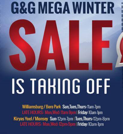 G&G Mega Winter Sale!