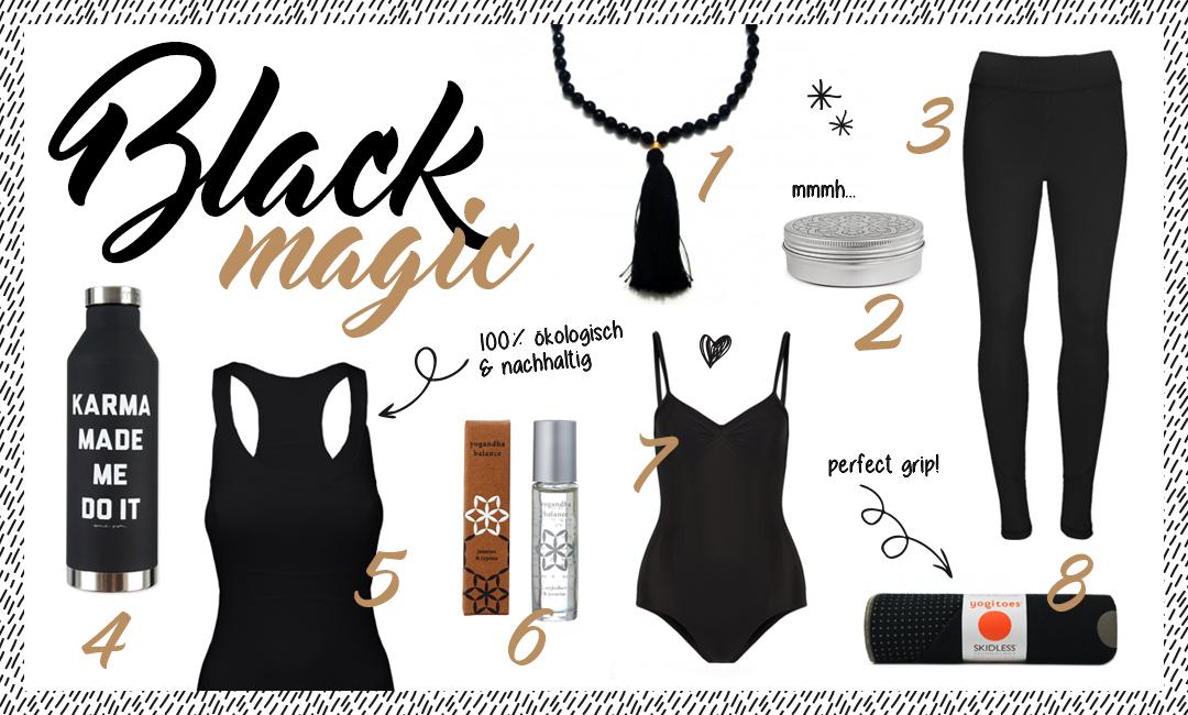 Yogi's Essentials // Black Magic