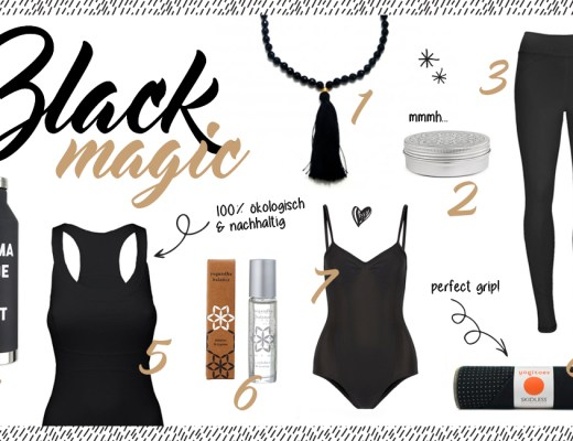 Yogi's Essentials // Black Magic