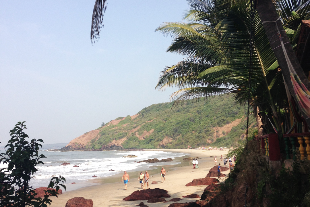 Arambol Beach Goa, India