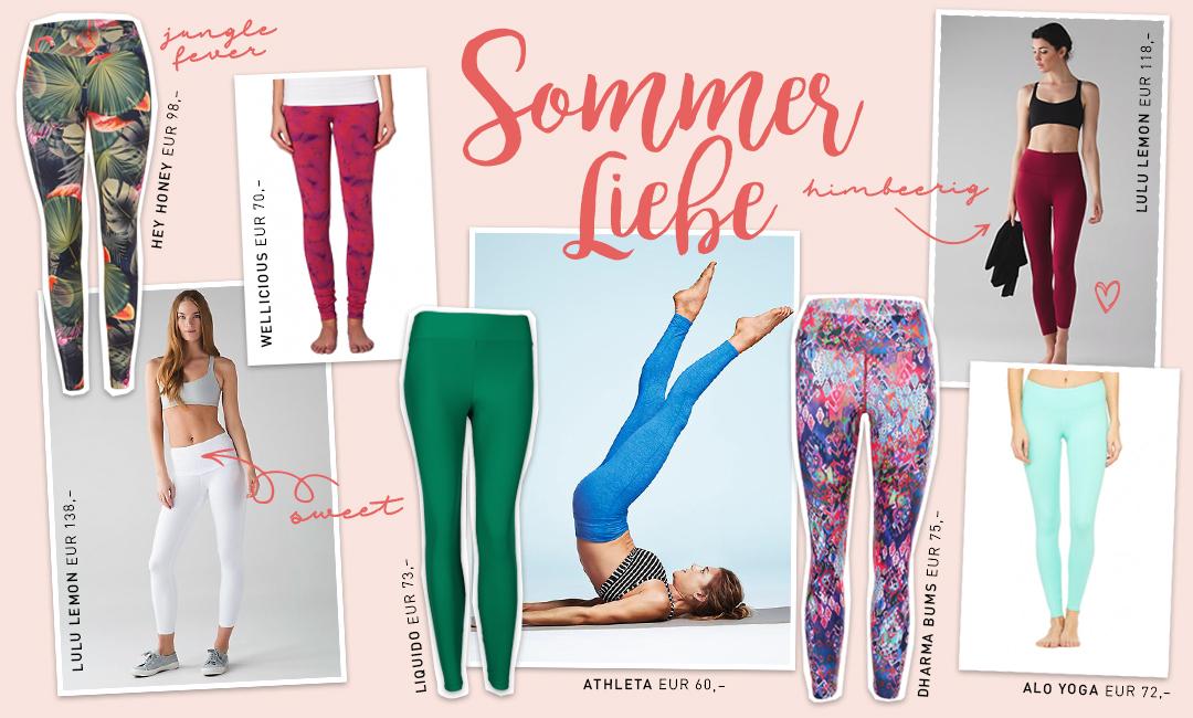 Leggings Love – Sommer – Yoga Leggings - Lieblinge