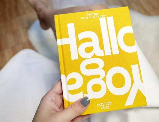 Hallo Yoga Zürich Gutschein Buch Design Yoga Studio Übersicht Gewinnspiel Verlosung