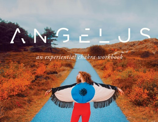 Angelus a experimental chakra book by Erica Jago and Roos van der Kamp yoga art kickstarter campaign support needed