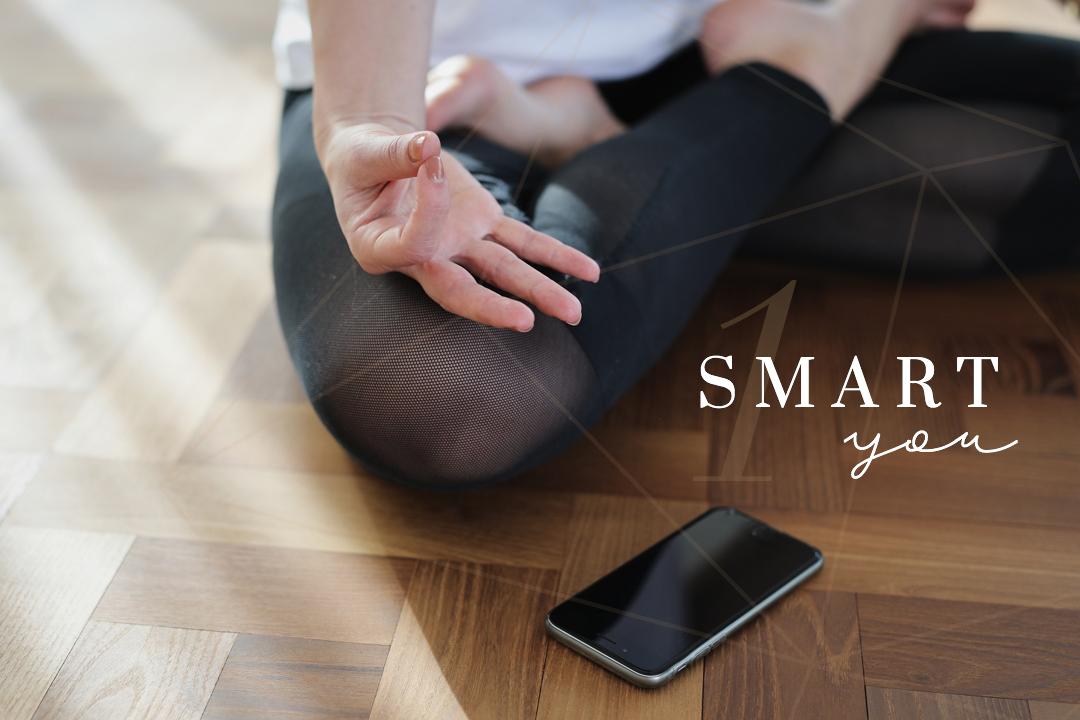 Smart You Tech Technologie Digitalisierung App Meditation Sitzen Üben Practice