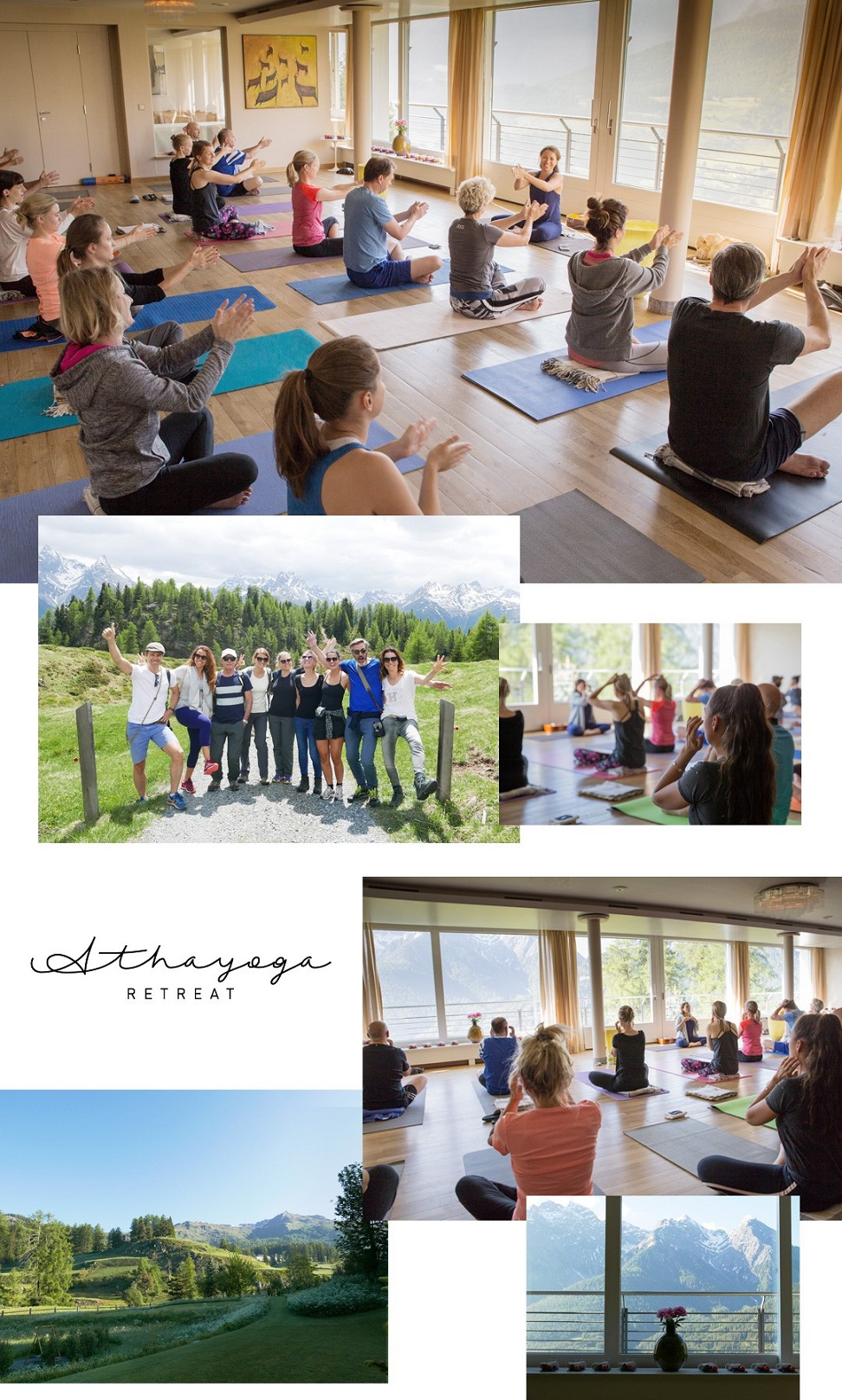 Yoga Yogaretreat Schweiz Ftan Engadin