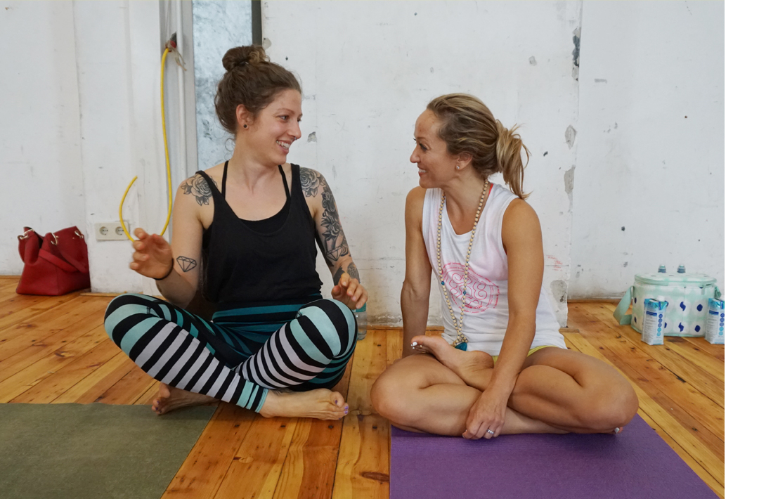 Kino McGregor Workshop 2017 Wien Yogapur Ashtanga Yoga USA