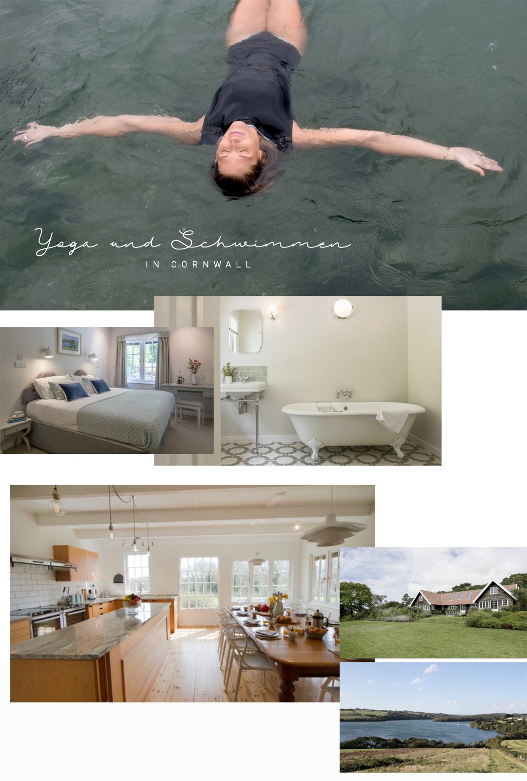 MYMARINI Retreats Yoga Reisen Cornwall Schwimmen Ozean tauchen England Natur Wasser Auszeit Urlaub