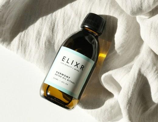 ELIXR Daily Detox Ölziehen Öl oil pulling Ritual Morgenritual Reinigung Wohlbefinden Harmony Test