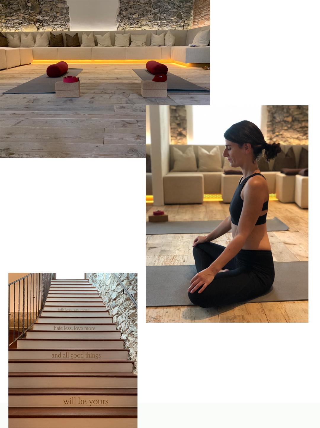 Seefeld Yoga Klosterbräu Wellness Tirol Österreich