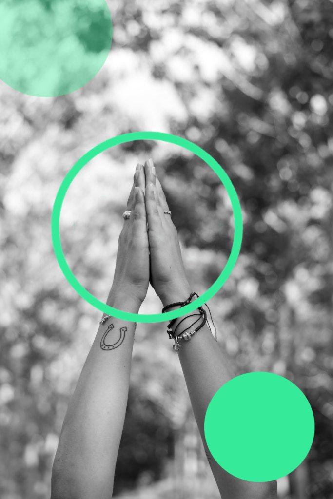 yoga greeting
