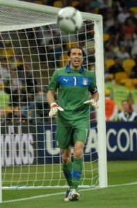 Oh, this guy: Italy also boasted Gianluigi Buffon in their line-up. ©Wikimedia
