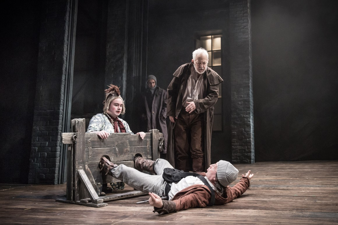 King Lear_Fool, Lear and Kent-740