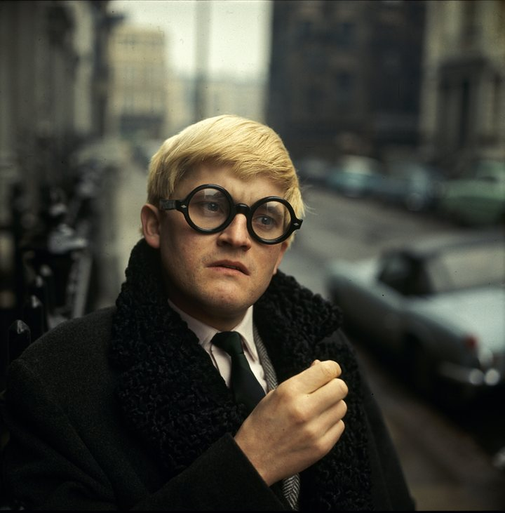 "David Hockney, 1966 ""Colour is too noisy,"" she once said. ""The eye doesn't know where to rest."""