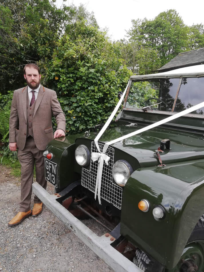 Andrew Dobson - the yorkshire dales vintage wedding car company