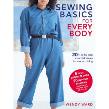 Front cover of Wendy Ward's Sewing Pattern book of Sewing Basics for Everybody