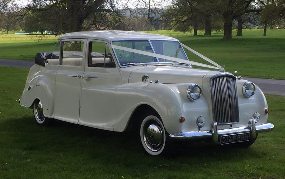 Austin Price Wedding Car
