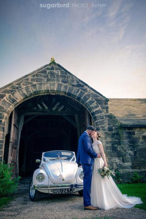 VW Beetle Wedding Car