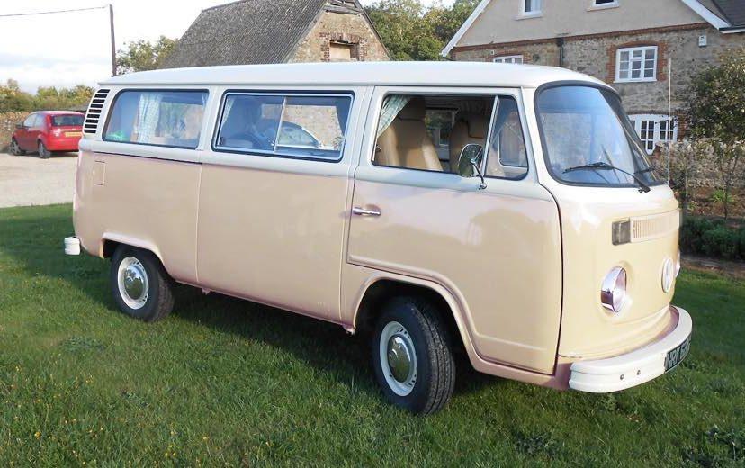 VW Bay Window Camepervan