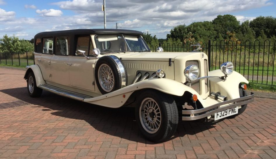 Beauford Tourer Stretched Limousine - Olde English White