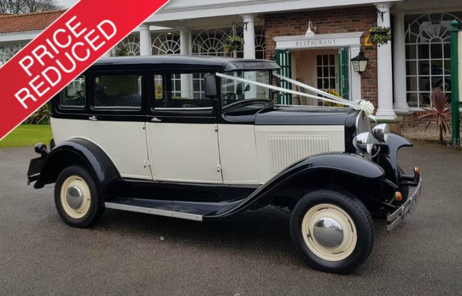 Heritage Burghwallis Vintage Wedding Car Hire