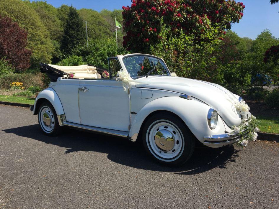 VW Vintage Beetle Cabriolet