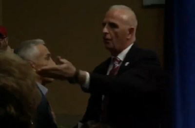 Trump Security Kicks Out Univision Reporter Jorge Ramos After He Asks a Question (Photo: YouTube)