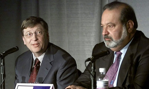 Bill Gates and Carlos Slim (Photo: ddsmedia.net)