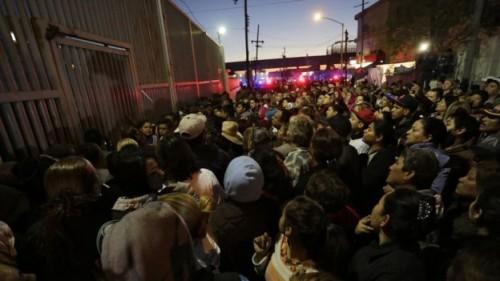 Scene outside Topo Chico prison Thursday Feb. 11. (PHOTO: bbc.com)