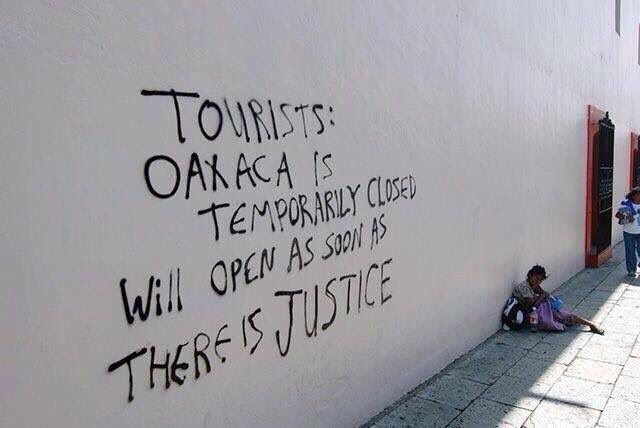 Oaxaca graffiti. (PHOTO: itsgoingdown.org)