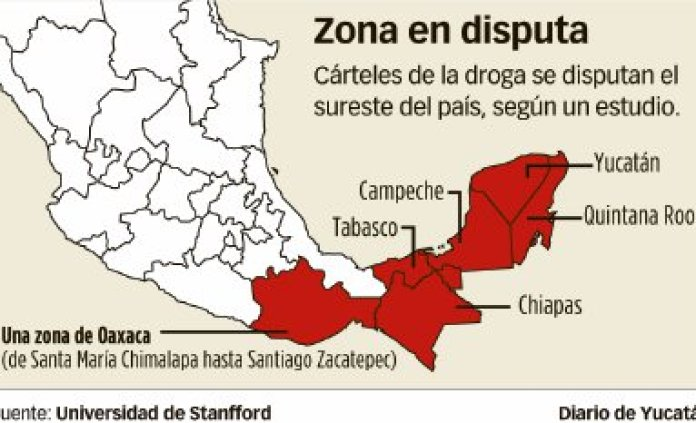 Narco-cartels dispute control of Yucatan and SE Mexico – The Yucatan Times