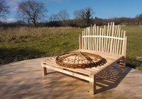 New handmade beds for yurts
