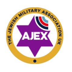Logo of AJEX and hyperlink to their website