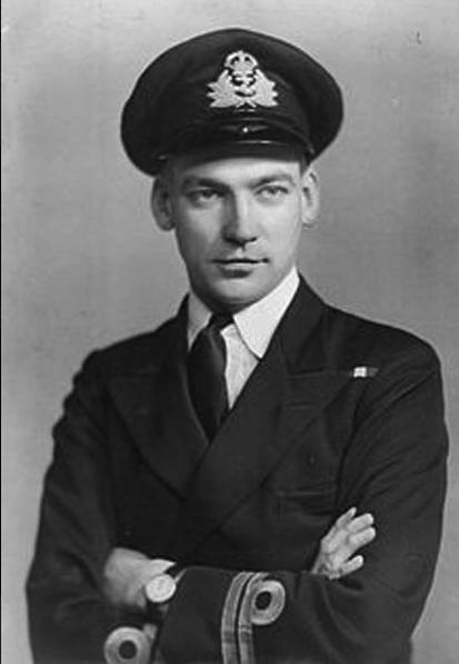 Lieutenant Peter S.W. Roberts, VC, DSC