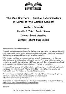 The Zee Brothers Mini Comic Page #000