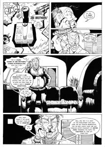 The Zee Brothers Mini Comic Page #4